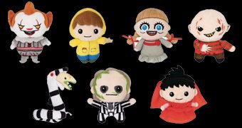 Chaveiros de Pelúcia Horror Plush: Pennywise, Freddy Krueger, Annabelle e Beetlejuice