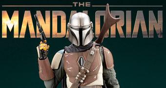 The Mandalorian ArtFX+ Estátua Kotobukiya 1:10 da Nova Série Star Wars