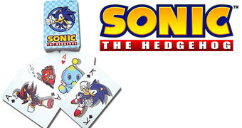 Baralho Sonic the Hedgehog (Sega)