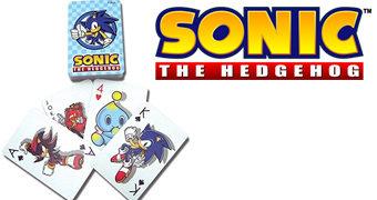 Baralho Sonic the Hedgehog (Sega)