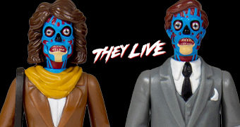 They Live ReAction – Action Figures Retro do Filme Eles Vivem de John Carpenter