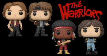 Bonecos Pop! do Filme The Warriors (Os Selvagens da Noite)