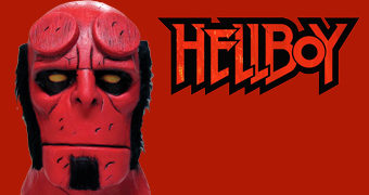 Máscara Hellboy Dark Horse Comics (Halloween)