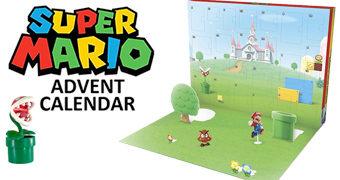 Calendário do Advento Super Mario com 24 Surpresas para o Natal (Nintendo)