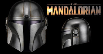 Capacete de Luxo The Mandalorian 1:1 Star Wars Disney+ (Anovos)