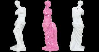 Cofre Vênus de Milo Branca ou Rosa Pink