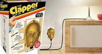 Star Wars C-3PO Clapper: Liga e Desliga a Luz Batendo Palmas