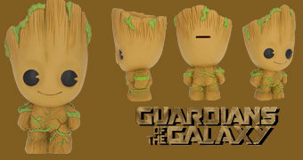 Cofre Groot, a Criatura Humanoide em Forma de Árvore (Guardiões da Galáxia)