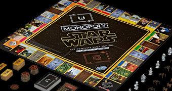 Jogo Monopoly Star Wars: A Saga Skywalker Completa com os 9 Filmes