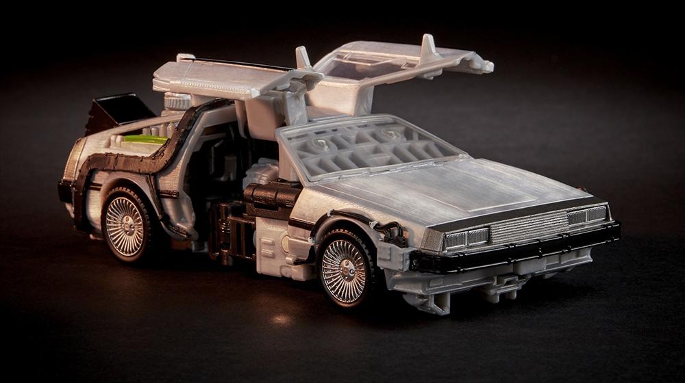 DeLorean antes da mudança para Gigawatt