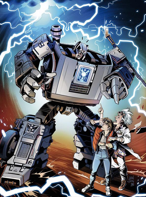 De Volta para o Futuro e Transformers também estarão juntos em nova história em quadrinhos