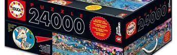 24.000 Peças: O Maior Quebra-Cabeça do Mundo!