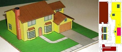 Casas De Papel Para Montar Imagui