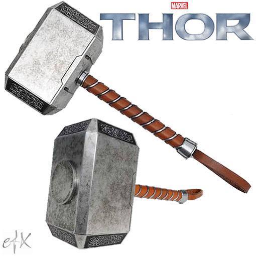 Mjolnir O Martelo Magico De Thor Replica Perfeita Em Escala 1 1