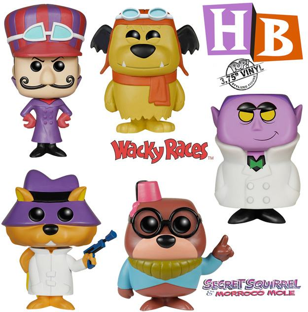 Bonecos Pop Hanna Barbera Serie 2 Dick Vigarista Muttley