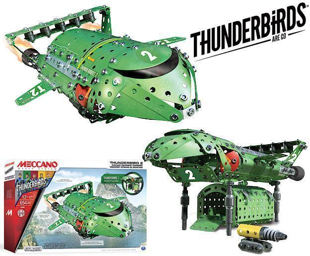 Kit De Montar Metalico Meccano Thunderbirds Are Go Blog De Brinquedo