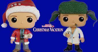 Bonecos Funko Pop! Férias Frustradas no Natal (Chevy Chase e Randy Quaid)