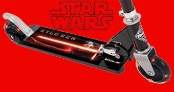 Patinete Kylo Ren Star Wars Episódio VII