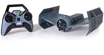 Darth Vader R/C TIE Fighter que Voa de Verdade!