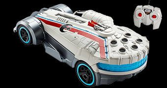 Carro Star Wars Hot Wheels com Controle Remoto: Millenium Falcon