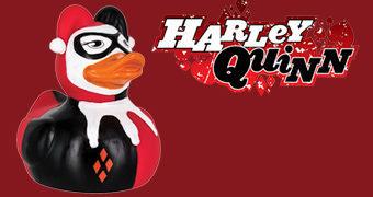 Patinha de Borracha Harley Quinn (Hora do Banho)