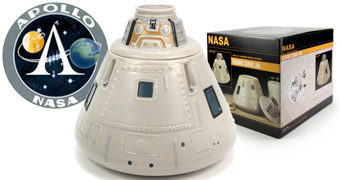 Pote de Cookies Módulo de Comando Apollo NASA Cookie Jar