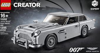 LEGO James Bond Aston Martin DB5 com 1.295 Peças