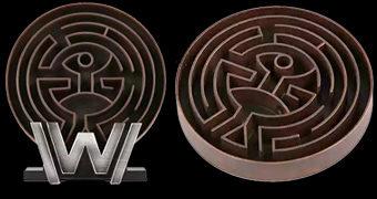 Réplica Prop do Labirinto Westworld Maze