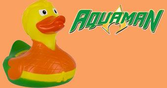 Patinho de Borracha Aquaman