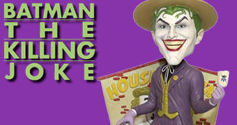 Bobble Head Coringa em A Piada Mortal (The Killing Joke)
