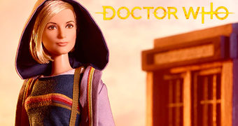Boneca Barbie Doctor Who: A Décima Terceira Doctor (Jodie Whittaker)
