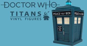Doctor Who TITANS: Nova TARDIS da 13º Doctor (Jodie Whittaker)