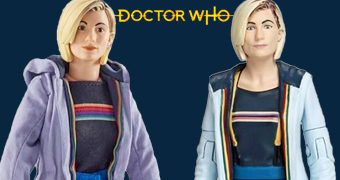 Action Figures da 13º Doctor (Jodie Whittaker) com 14 cm e 26 cm de Altura (Doctor Who)