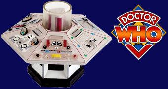 Coleção Consoles Centrais TARDIS Doctor Who: 4º Doctor (Tom Baker)