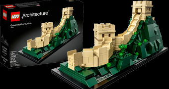 LEGO Architecture: A Grande Muralha da China