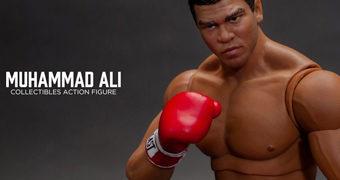 Action Figure Muhammad Ali Campeão Mundial dos Pesos-Pesados (Storm Collectibles 1:12)