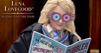 Luna Lovegood (Evanna Lynch) Action Figure Perfeita Harry Potter Star Ace 1:6