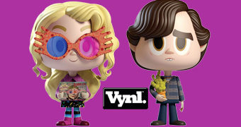 Dupla VYNL Luna Lovegood + Neville Longbottom (Harry Potter)