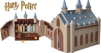Playset do Grande Hall de Hogwarts (Harry Potter)