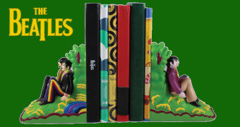 Apoios de Livros The 4 Beatles Yellow Submarine Bookends