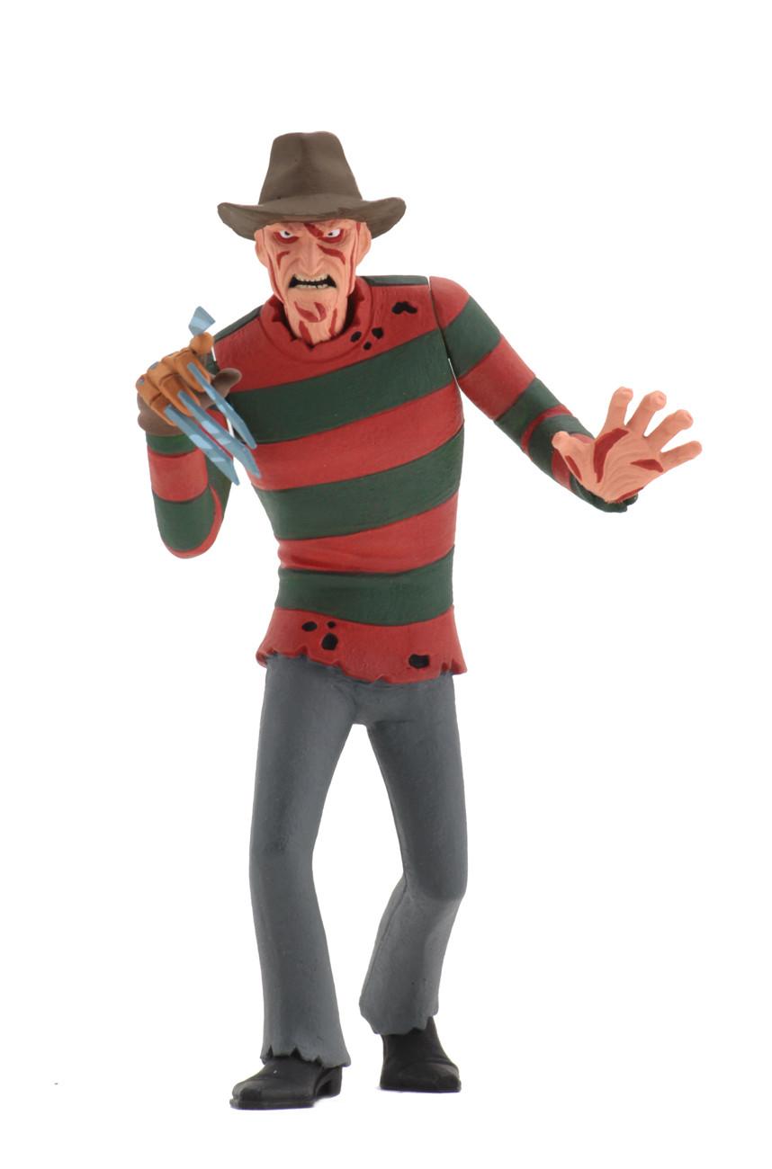 Toony Terrors Freddy Jason E Pennywise No Estilo Desenho Animado