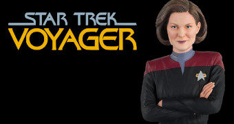 Busto Star Trek: Voyager Capitã Kathryn Janeway