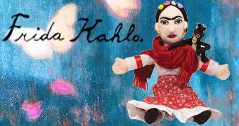 Boneca de Pano Frida Kahlo Little Thinker