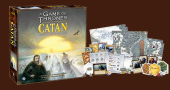 Jogo Game of Thrones Catan: Brotherhood of the Watch (Colonizadores de Catan)