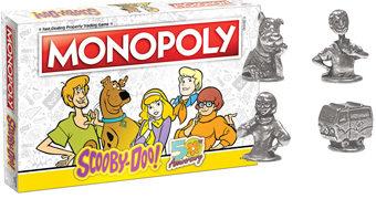 Jogo Monopoly Scooby-Doo 50 Anos