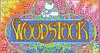 Quebra-Cabeça Festival de Woodstock (Pôster de Bob Masse) com 500 Peças