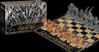 Xadrez Game of Thrones Westeros vs. White Walkers