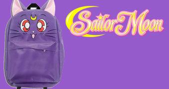 Mochila Sailor Moon Luna, a Gata Falante