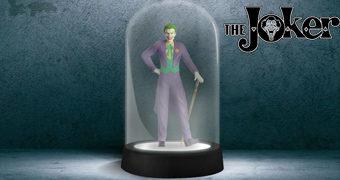 Luminária Coringa (Joker) em Redoma de Vidro