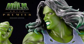 She-Hulk (Mulher-Hulk) ArtFX Premier – Estátua Kotobukiya Elite 1:10 Marvel Comics